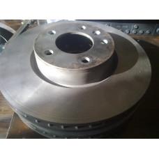 Тормозной диск передний 296мм для Опель Омега Б